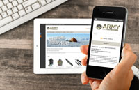 Army and Outdoors website launch