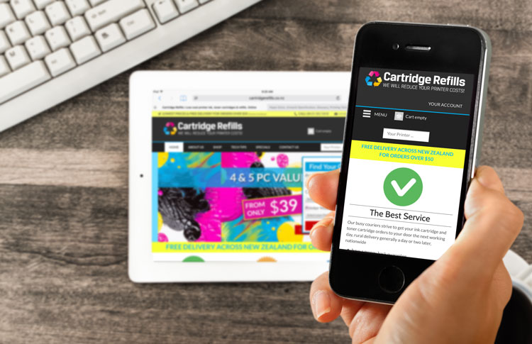 Cartridge Refills Website Re-development Launch